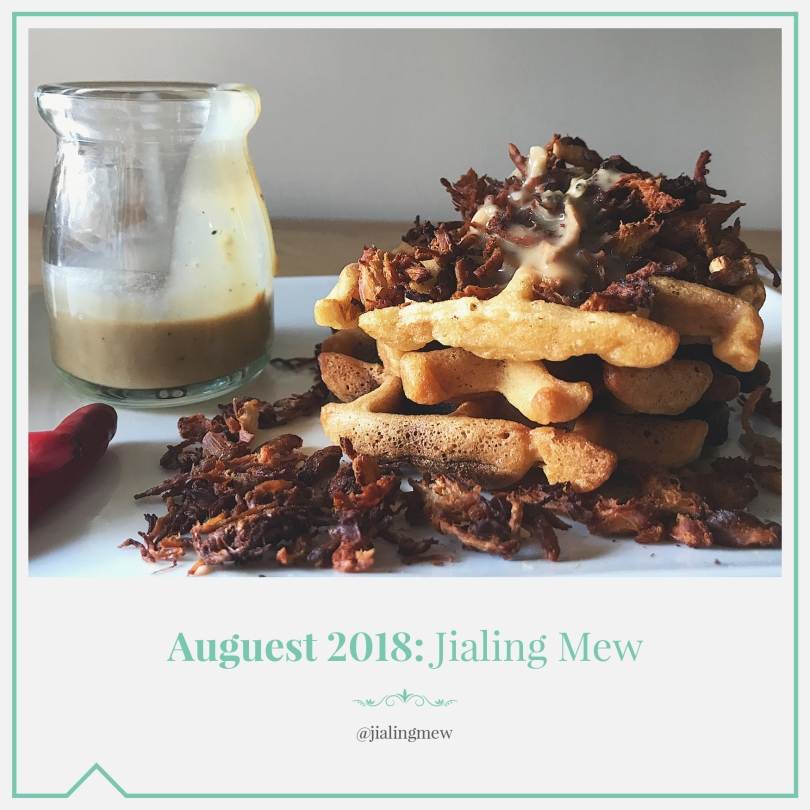 Auguest 2018: Jialing Mew