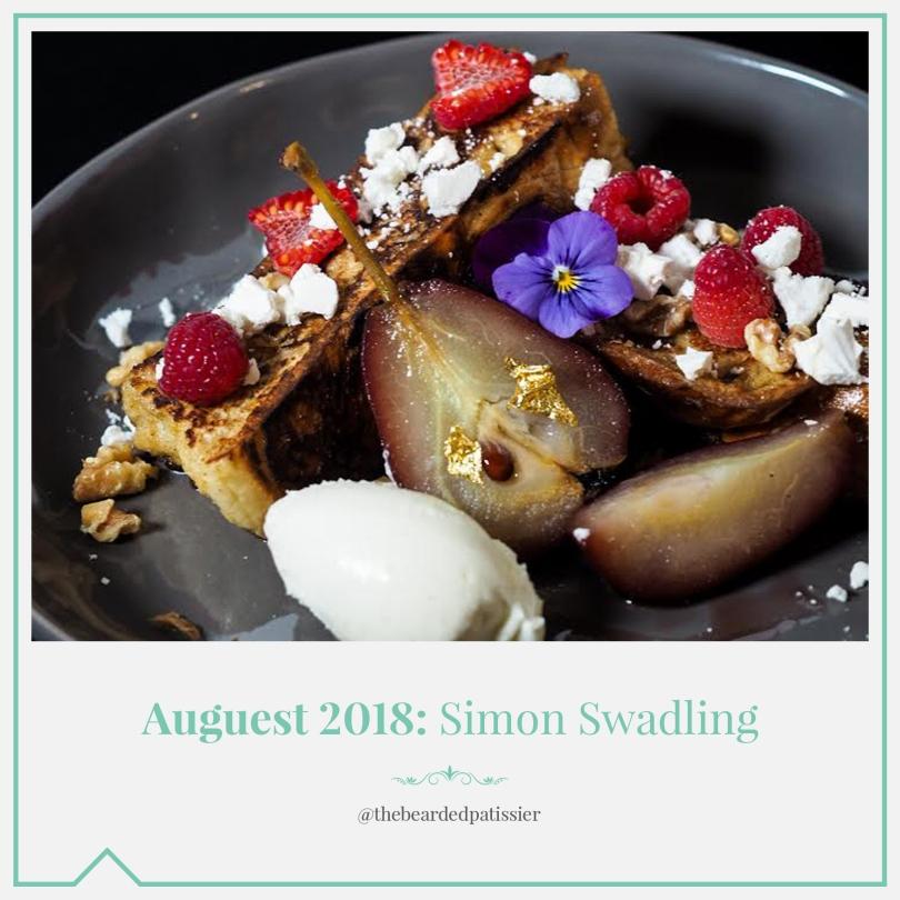 Auguest 2018: Simon Swadling