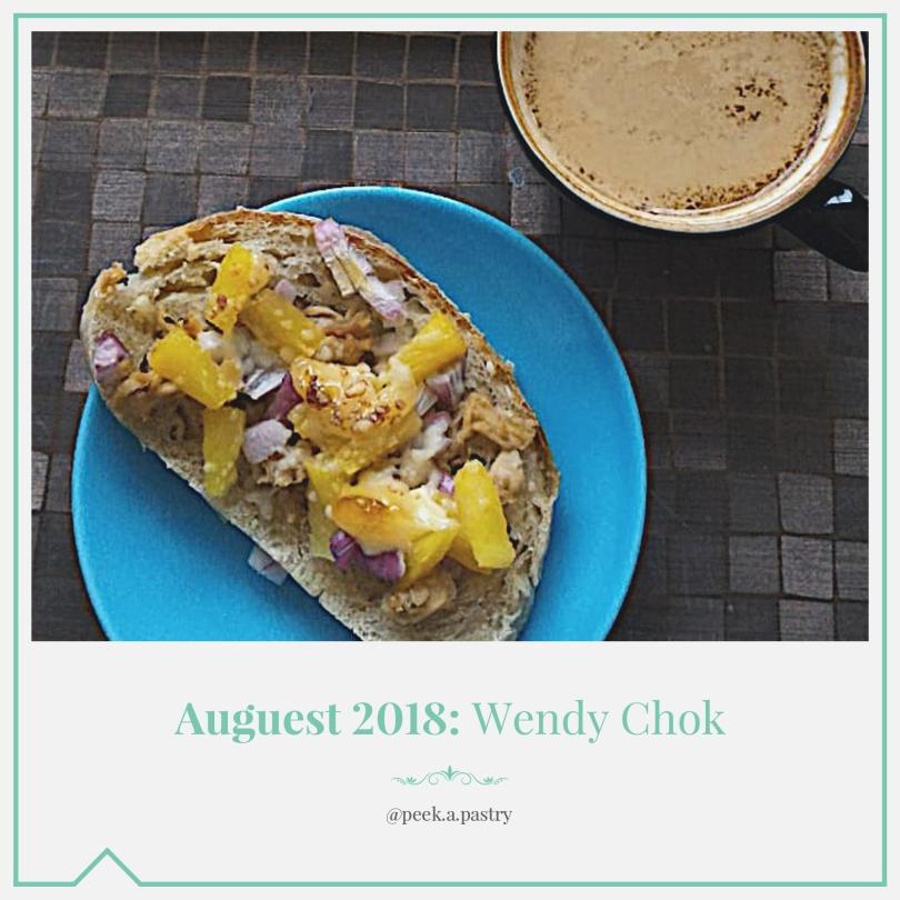 Auguest 2018: Wendy Chok