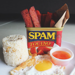 Tocino Spamsilog Fries