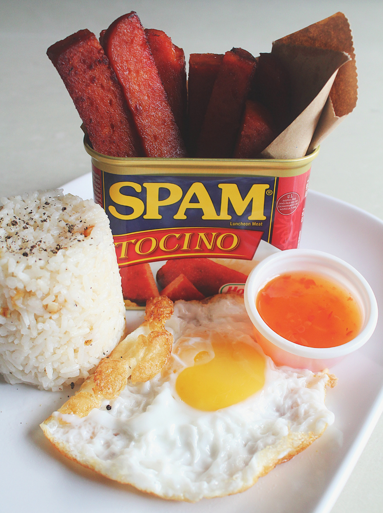 Tocino Spamsilog Fries