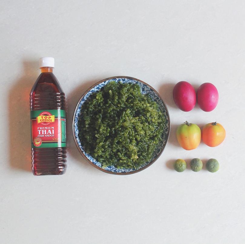 Ensaladang Lato Ingredients