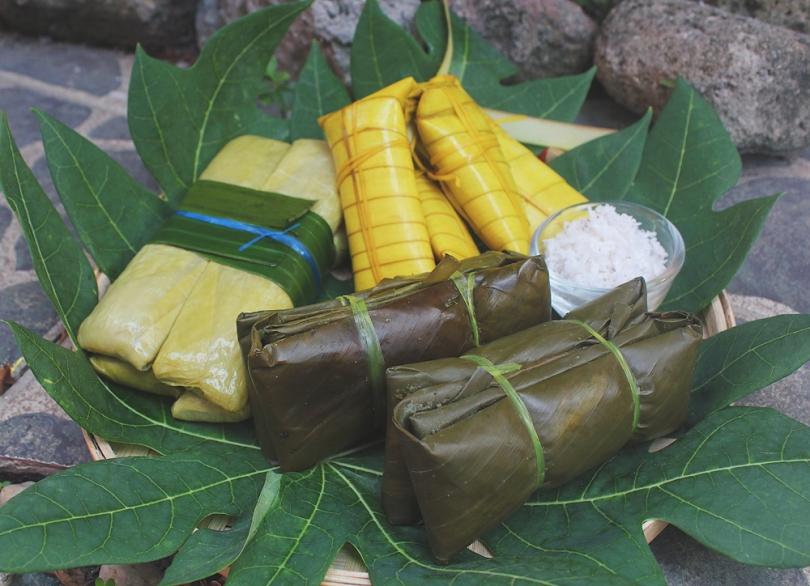 Suman Malagkit, Suman sa Lihiya / Sumang Magkayakap, and Suman sa Ibos