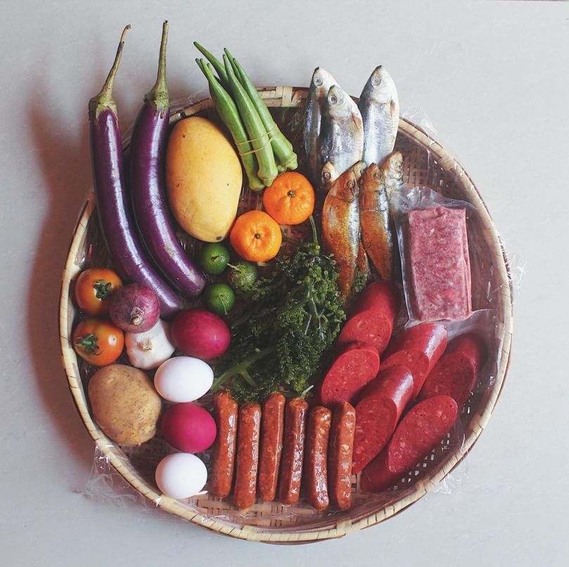 Big Breakfast Bilao Ingredients