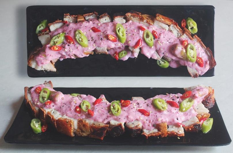Crispy Pork Bicol Express