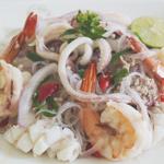 Yum Woon Sen (ยำวุ้นเส้น) Glass Noodle Salad