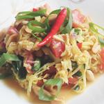 Som Tam Mamuang (ส้มตำมะม่วง) Green Mango Salad