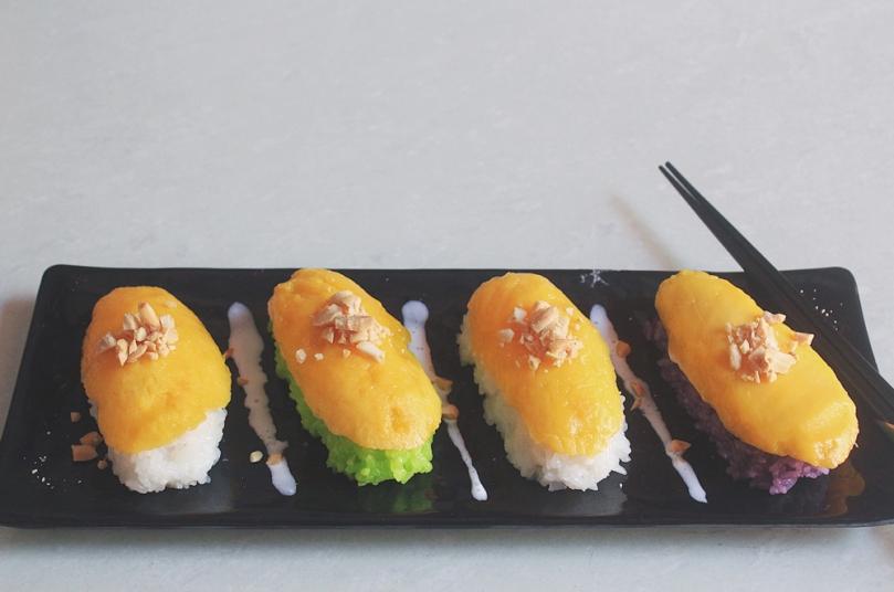 Khao Neoo Mamuang (ข้าวเหนียวมะม่วง) Mango Sticky Rice