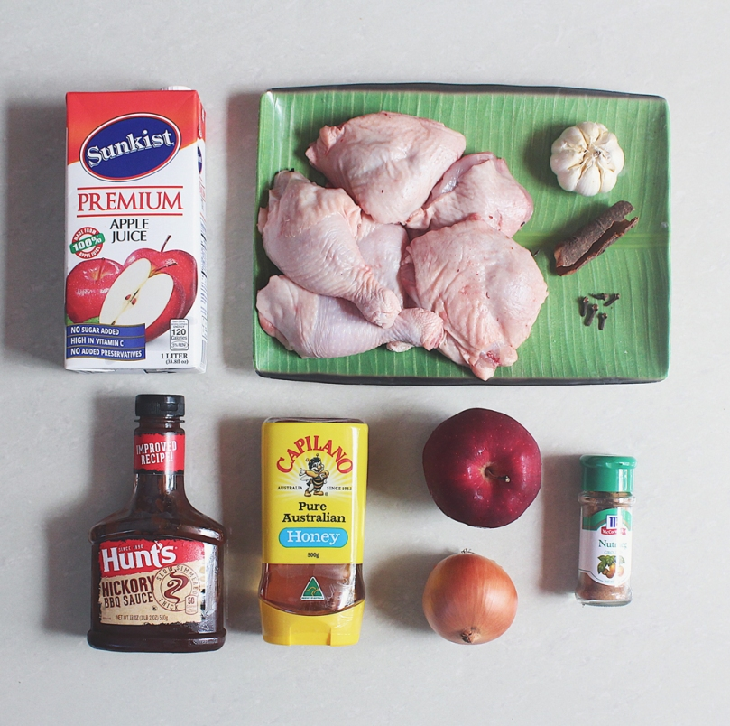 Apple Chicken Bake Ingredients