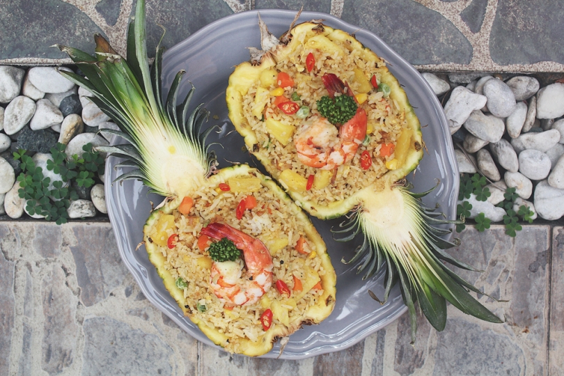 Thai-style Pineapple Fried Rice
