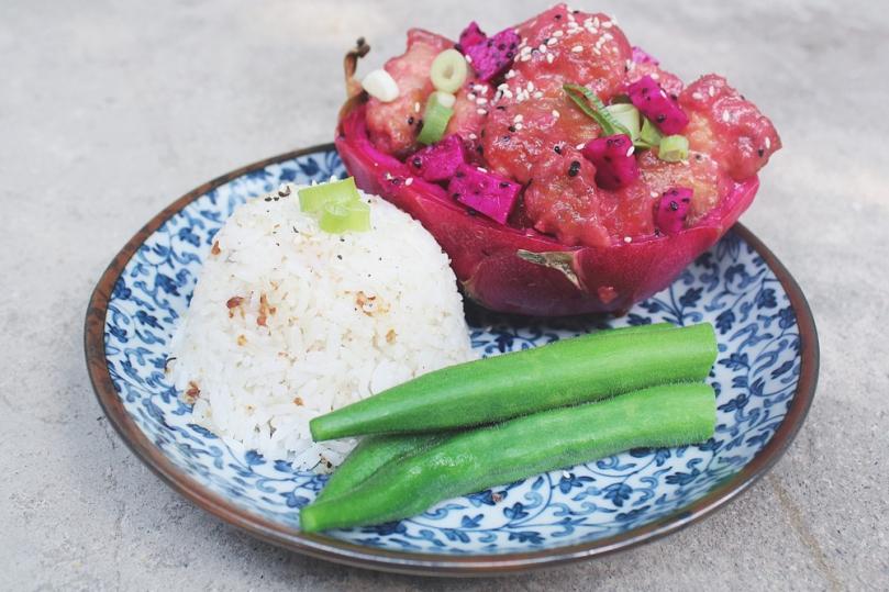 Dragon & Lychee Pork