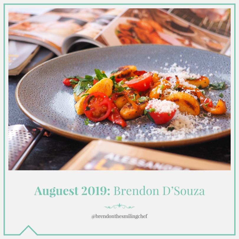 Auguest 2019: Brendon D'Souza