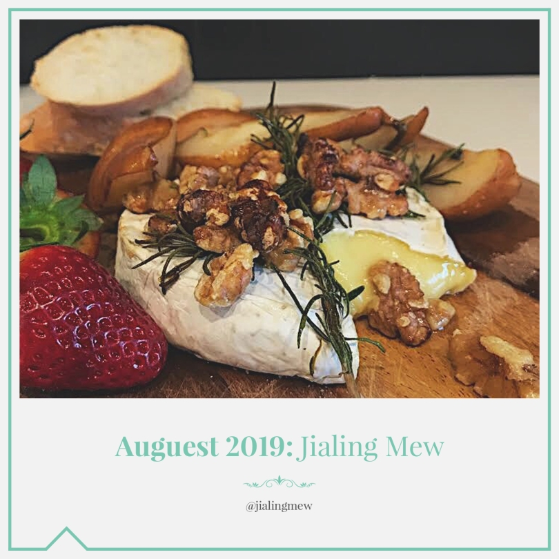 Auguest 2019: Jialing Mew