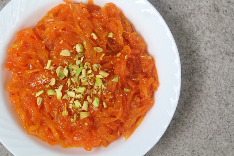 Vegan Gajar Ka Halwa (Indian Carrot Pudding)