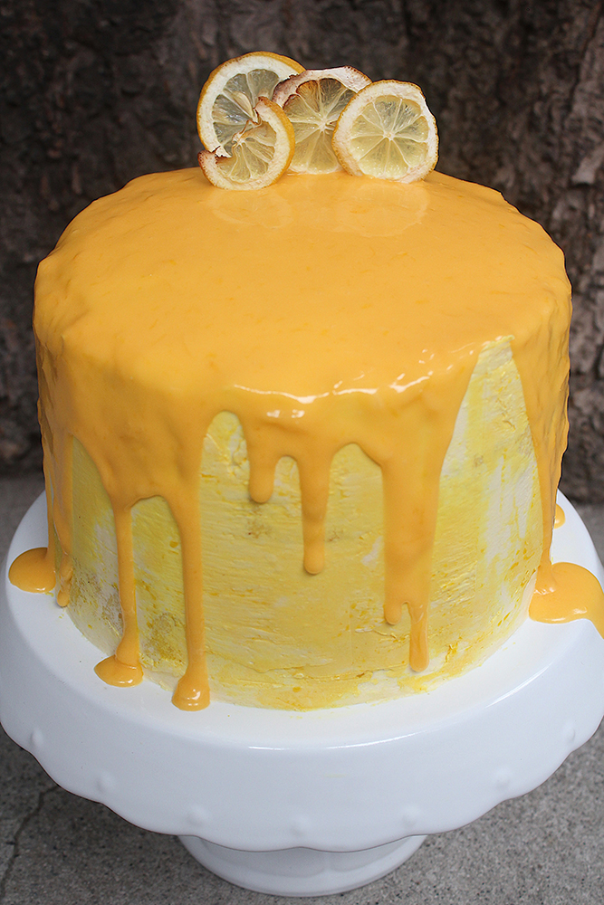 Lemon Sunshine Cake