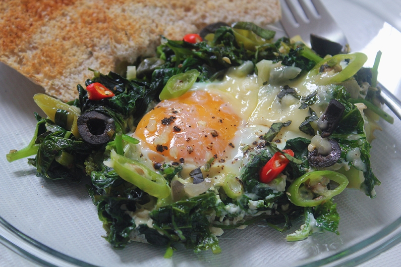 Super Green Shakshuka