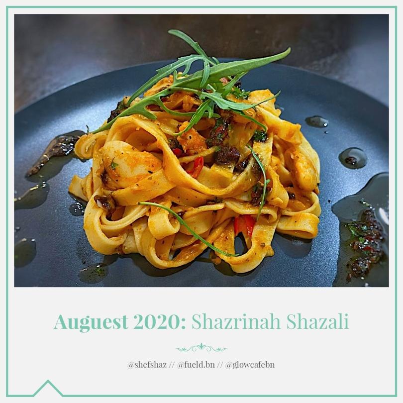 Auguest 2020: Shazrinah Shazali