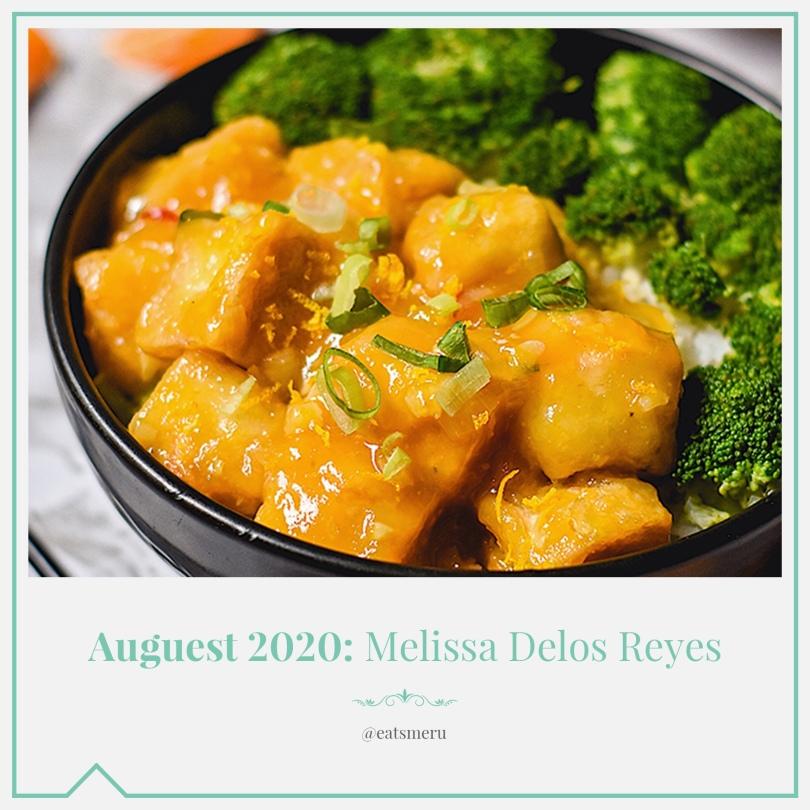 Auguest 2020: Melissa Delos Reyes