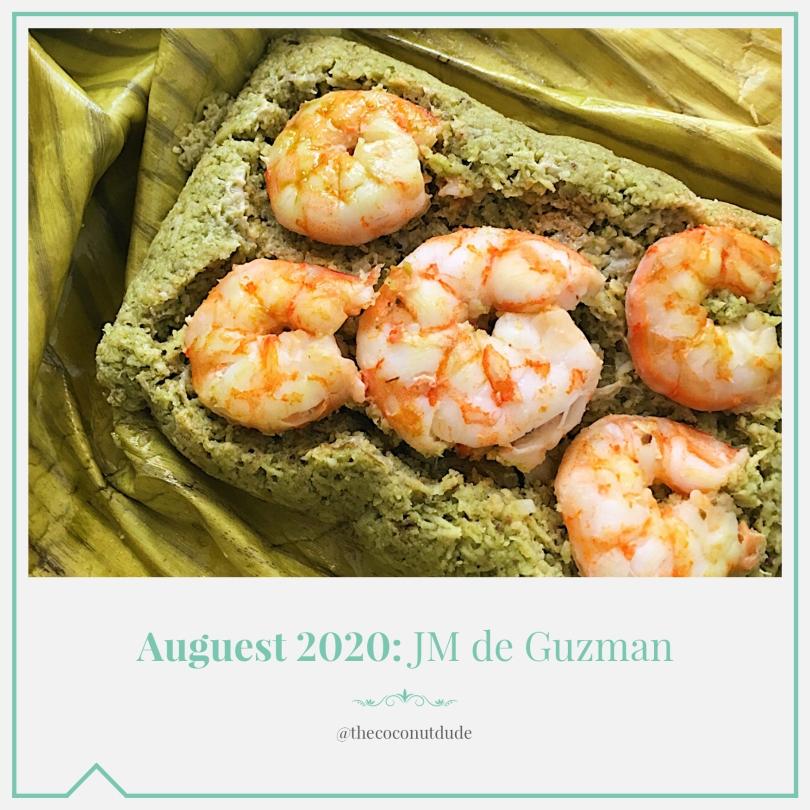 Auguest 2020: JM de Guzman