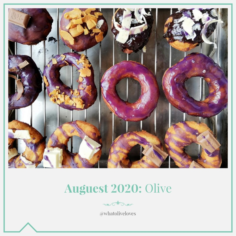 Auguest 2020: Olive