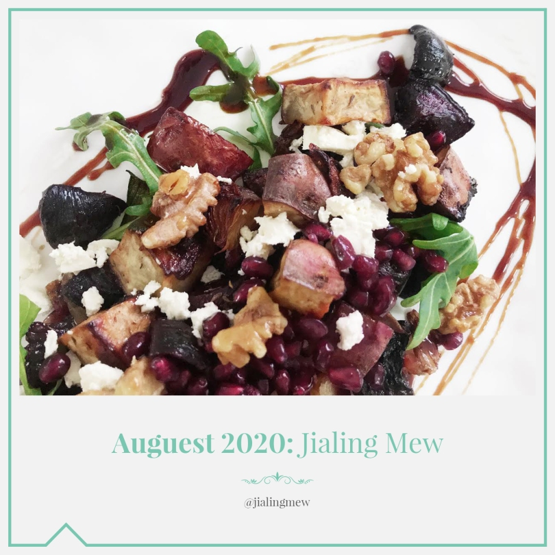 Auguest 2020: Jialing Mew