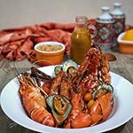 Deconstructed Spicy Seafood Jambalaya