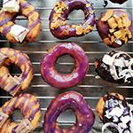 Ube-glazed Doughnuts