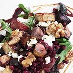 Roasted Purple Winter Vegetable Salad