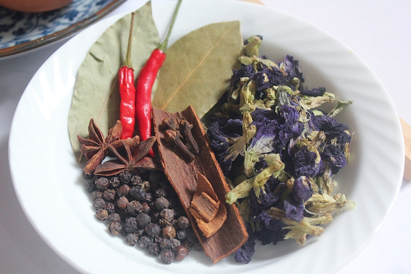 Chinese Blue Tea Eggs (茶叶蛋) Spices