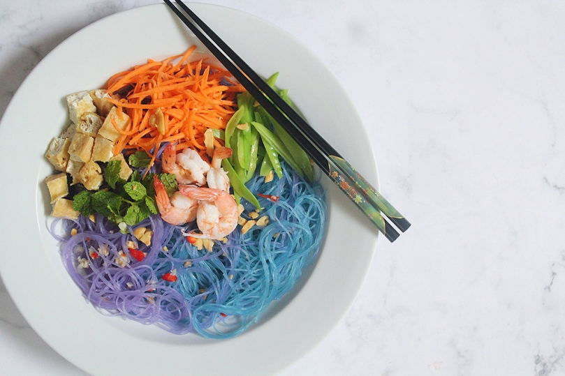 Magic Vietnamese-style Glass Noodle Salad