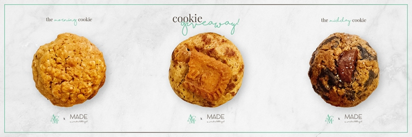 #AMCxMADE Cookie Giveaway