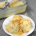 Salted Sweet Corn Ice Cream