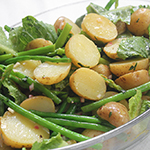 Potato Salad with Green Beans & Asparagus