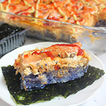 Magic Salmon Sushi Bake