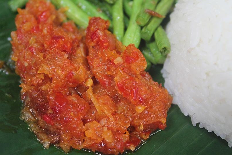 Nasi Katok with Buttermilk Salmon