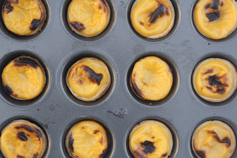 Pastéis de Nata (Portuguese Egg Tarts)