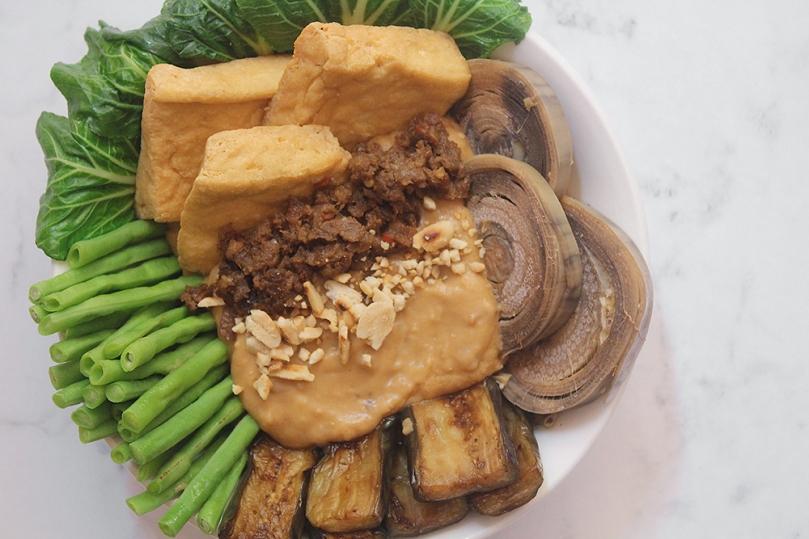 Crispy Tofu Kare-Kare