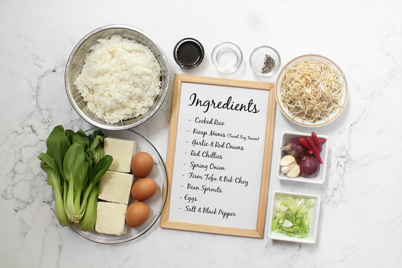 Nasi Goreng (Indonesian Fried Rice) Ingredients