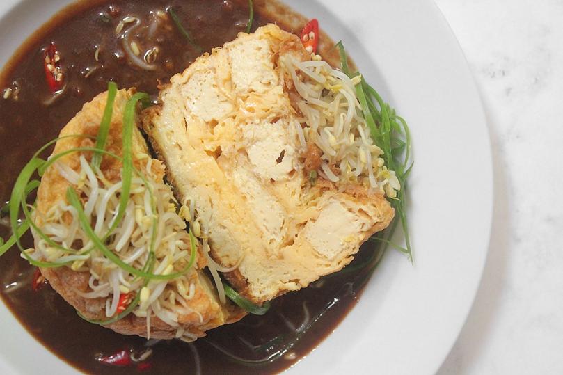 Tahu Telur (Indonesian Tofu Omelette)