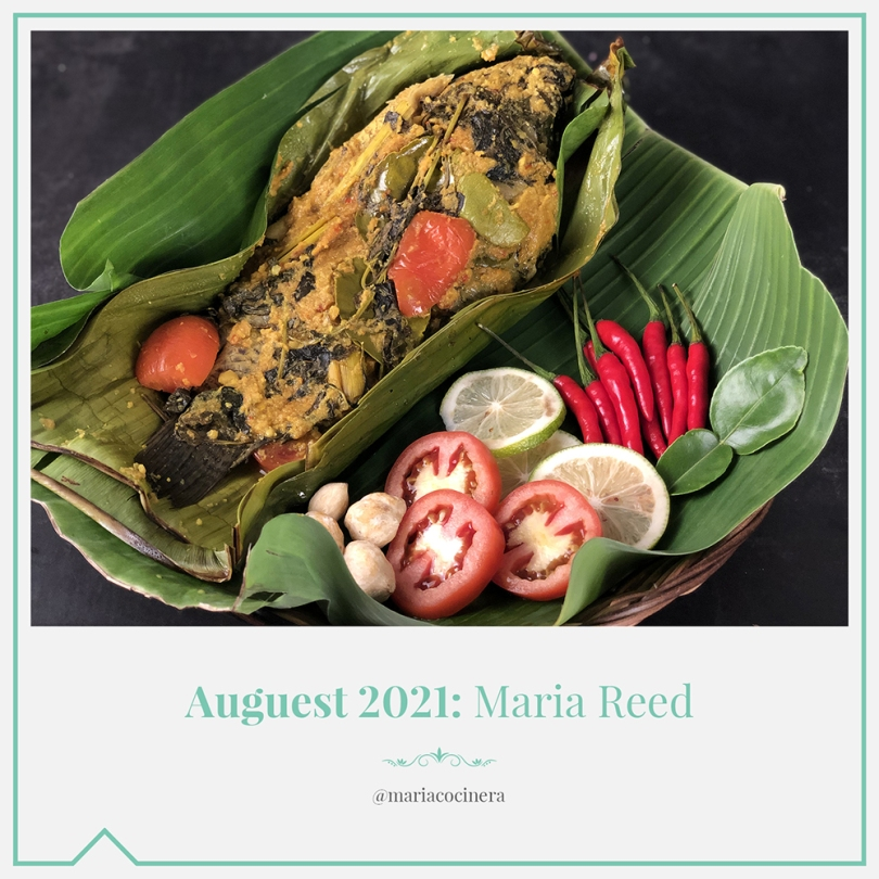 Auguest 2021: Maria Reed