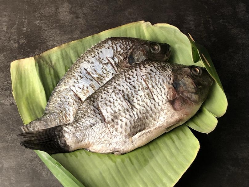 Pepes Ikan (Fish in Banana Leaves) Ingredients