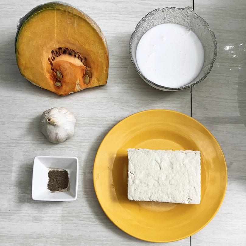 Ginataang Kalabasa (Squash with Coconut Milk) Ingredients