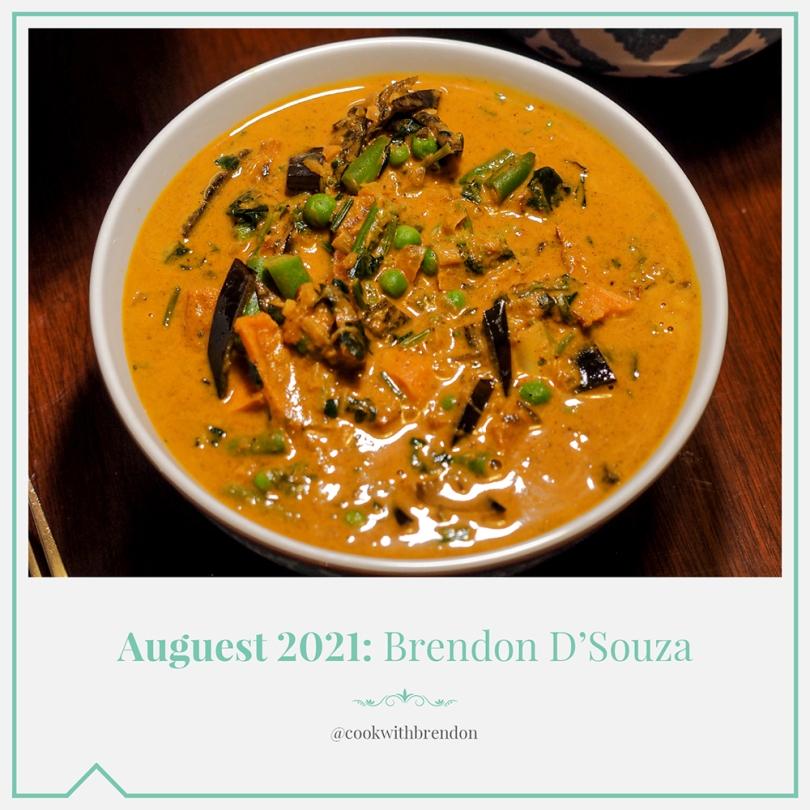 Auguest 2021: Brendon D'Souza