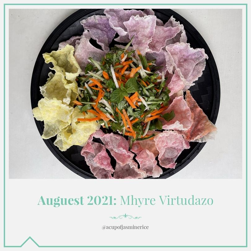 Auguest 2021: Mhyre Virtudazo