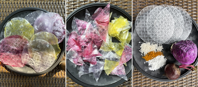 Vietnamese Rice Paper 3 Ways - Rice Paper Nachos