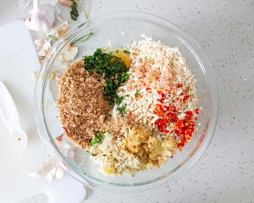 Vietnamese-inspired Tofu Rolls Ingredients