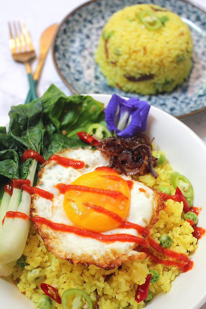Htamin Gyaw (Burmese-style Fried Rice)